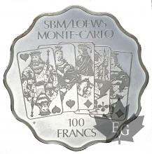 SBM-LOEWS-MONACO-TOKEN 100 FRANCS