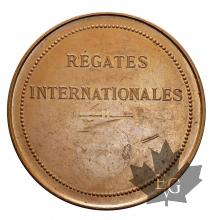 MEDAILLE EN CUIVRE-REGATES INTERNATIONALES