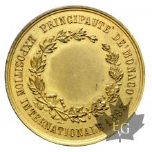 1893-EXPOSITION INTERNATIONALE - Médaille en bronze doré