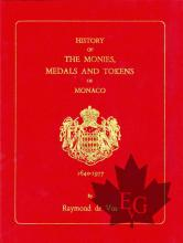 History of the Monies, Medals and Tokens of Monaco 1640-1977