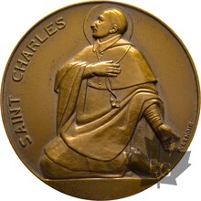 MEDAILLE-BRONZE-SAINT-CHARLES-59mm
