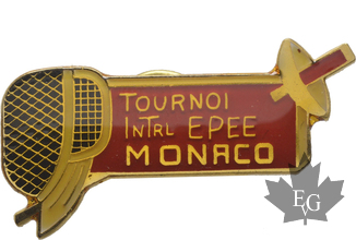 MONACO-PIN-TOURNOI-INTERNATIONAL-EPEE