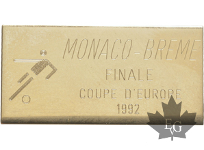 MONACO-PIN-COUPE-EUROPE-BREME-1992