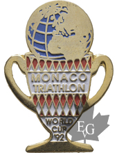 MONACO-PIN-TRIATHLON-COUPE-MONDIALE-1992