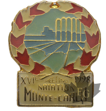 MONACO-PIN-XVI-MEETING-NATATION-1998