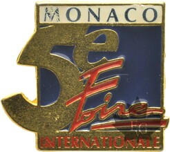 MONACO-PIN-5-EME-FOIRE-INTERNATIONALE