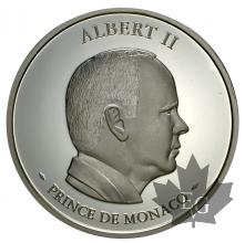 MONACO-2005-médaille- Albert II-proof