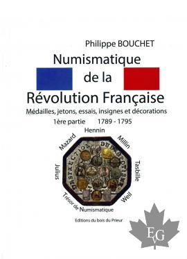 NUMISMATIQUE DE LA RÉVOLUTION FRANÇQISE