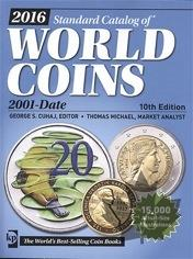 2016 WORLD COINS 2001 - DATE