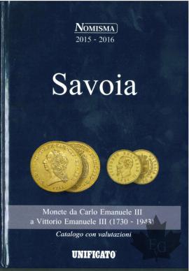 SAVOIA-Catalogo con valutazioni 2016