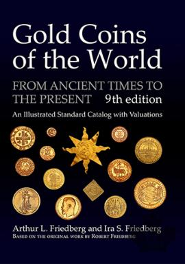 NEW-Gold Coins of the World 9th Edition