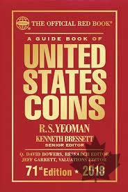 UNITED STATES COINS -71st EDITION 2018