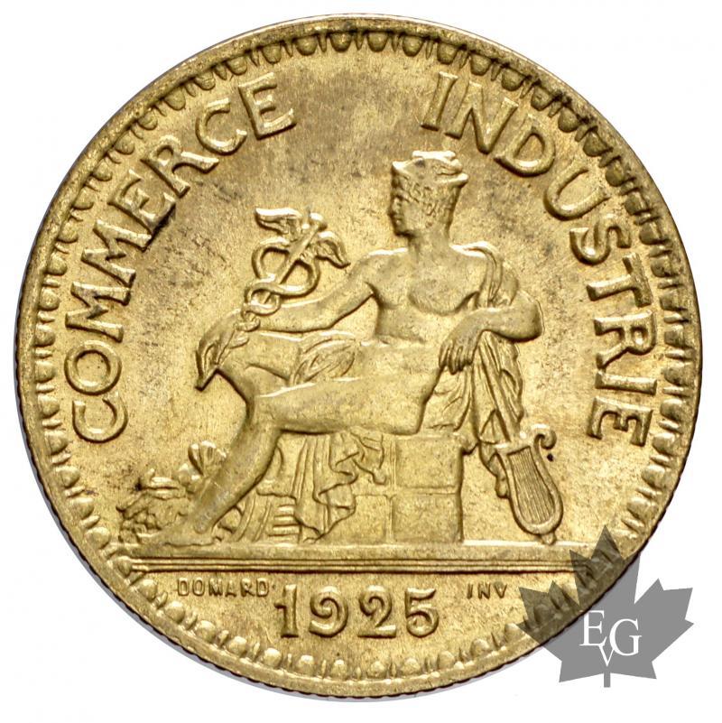 Monnaies france 1925 bon pour 2 francs sup fdc for Chambre de commerce de france bon pour 2 francs