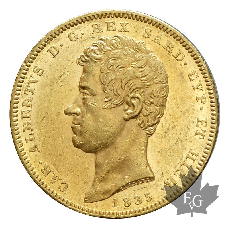 Coins italie 1835 100 lire carlo alberto torino presque sup for Coin torino