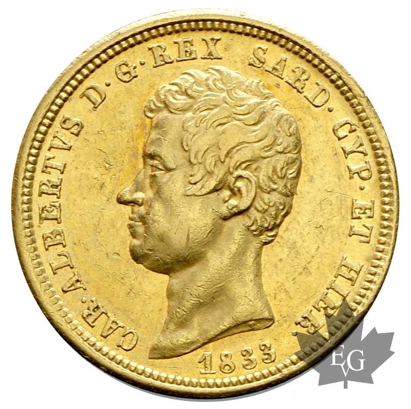 Coins italie 1833 50 lire carlo alberto torino presque for Coin torino
