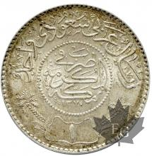 ARABIE SAOUDITE-1928-1/2 RIYAL-SUP