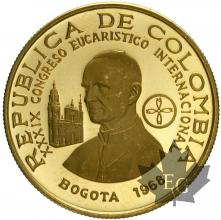 COLOMBIE-1968-200 PESOS-PROOF