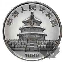 CHINE-1989-10 YUAN-1 ONCE PROOF