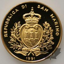 SAINT MARIN-1991-5 SCUDI-PROOF