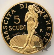 SAINT MARIN-1999-5 SCUDI-PROOF