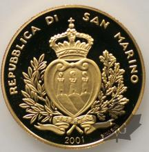 SAINT MARIN-2001-5 SCUDI-PROOF