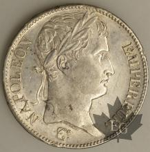 FRANCE-1809L-5 Francs tête laurée EMPIRE TTB à SUP 2