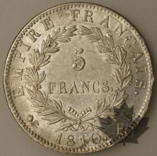 FRANCE-1810L-5 Francs tête laurée EMPIRE SUP