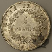 FRANCE-1810L-5 Francs tête laurée EMPIRE pr. SUP