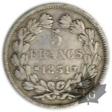 FRANCE-1831MA-5 Francs Louis-Philippe  G. 677  TBTTB