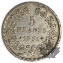 FRANCE-1831A-5 Francs Louis-Philippe  G. 677a  TTB