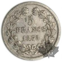 FRANCE-1835M-5 Francs Louis-Philippe  G. 678  TTB