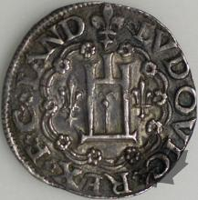 GENOVA-ND-Teston-Louis XII, 1499-1507