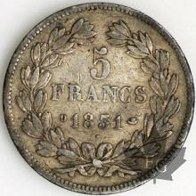 FRANCE-1831D-5 Francs Louis-Philippe  G. 677  TBTTB