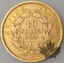 FRANCE-1855BB-10 Francs 5 plus bas  G. 1014 TBTTB