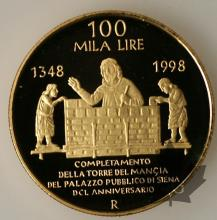 ITALIE-1998-100.000 LIRE OR