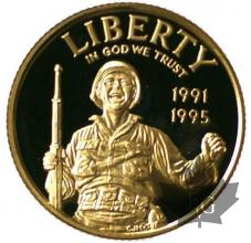 USA-1995-5 DOLLARS PROOF