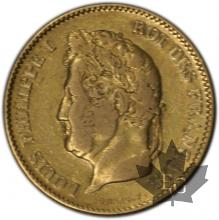 FRANCE-1832B-40 FRANCS or-  LOUIS PHILIPPE