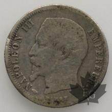 FRANCE-1860A-50 Centimes - Napoleon III