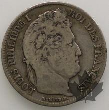 FRANCE-1841BB-1 Franc- Louis Philippe