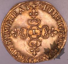 FRANCE-1632L-Ecu or  G. 55  SUPFDC-Louis XIII
