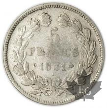 FRANCE-1831D-5 Francs Louis-Philippe  G. 677  TB