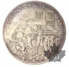 FRANCE-1994-100 FRANCS-LIBERATION DE PARIS-SUP