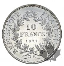 FRANCE-1971-10 FRANCS HERCULE-FDC