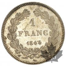 FRANCE-1844W-1 FRANC-LOUIS PHILIPPE I-SUP-FDC