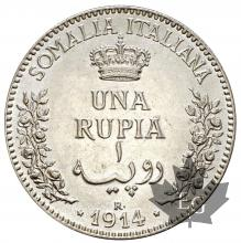 SOMALIE ITALIENNE-1914R-1 RUPIA-SUP