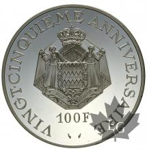 MONACO-1974-100 FRANCS-PROOF