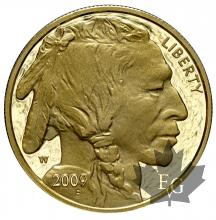 USA-2009-50 DOLLARS-AMERICAN BUFFALO-PROOF