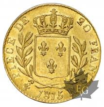 FRANCE-1815R-20 FRANCS 1ERE RESTAURATION-prSUP
