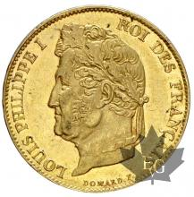 FRANCE-1834A-20 FRANCS-LOUIS PHILIPPE-prSUP