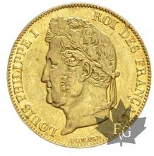 FRANCE-1842W-20 FRANCS-LOUIS PHILIPPE-prSUP